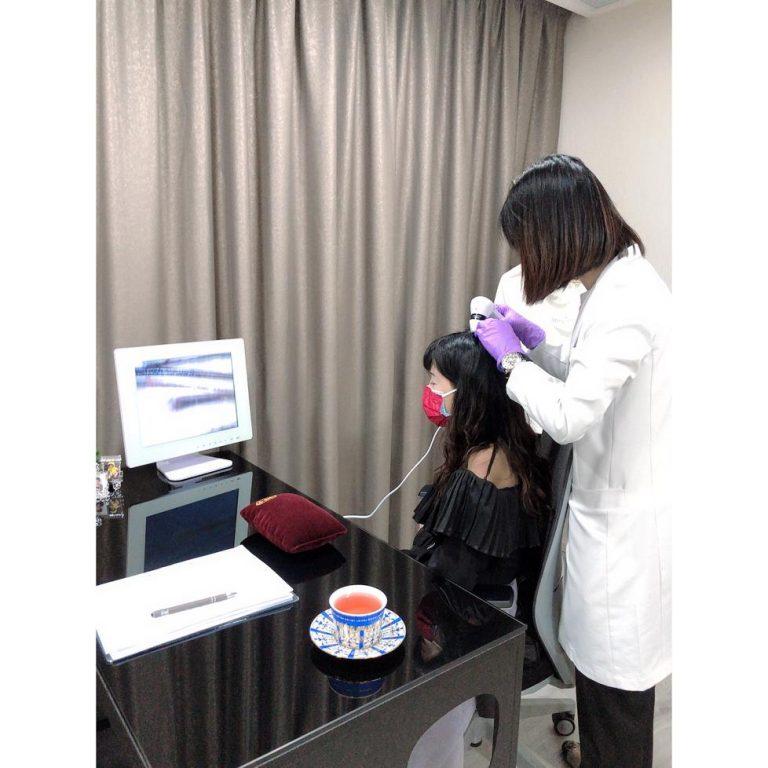 中醫生髮療程bloggerceci 頭皮檢測