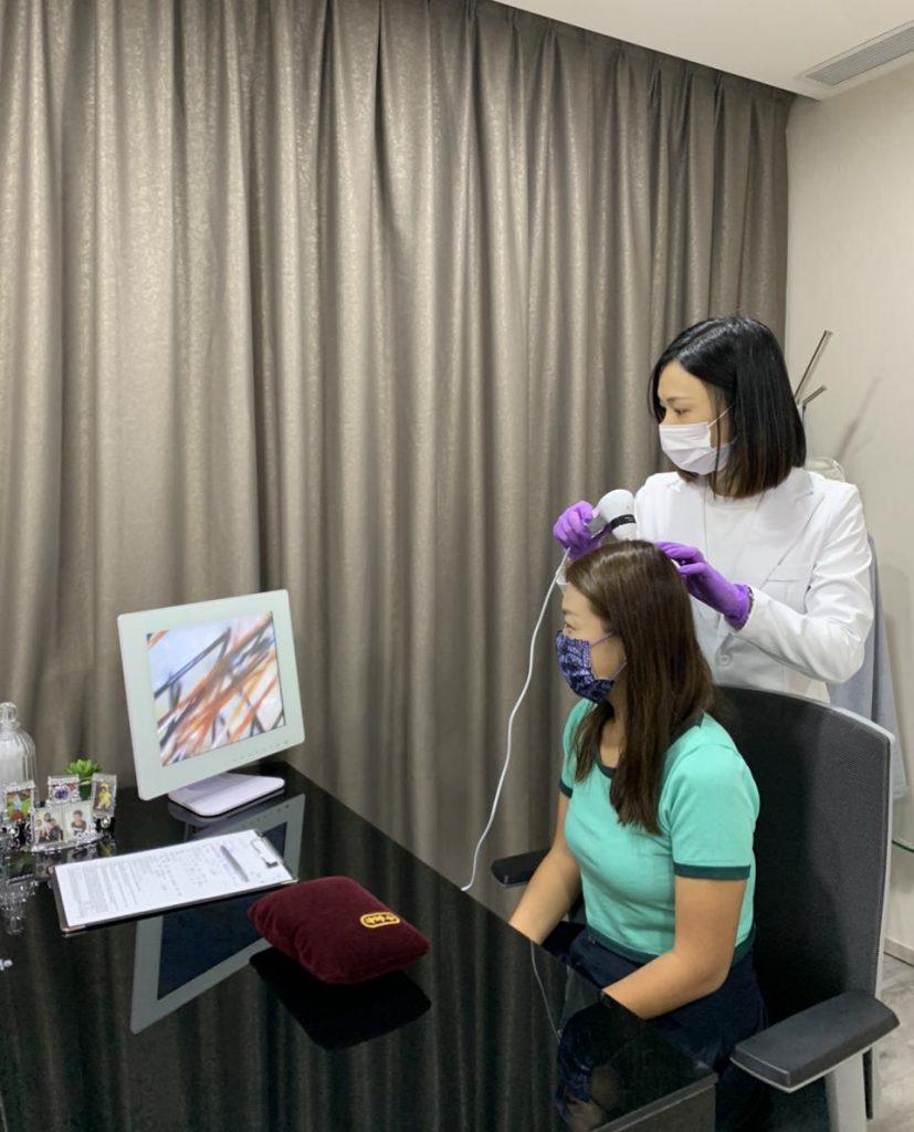 中醫頭皮檢測